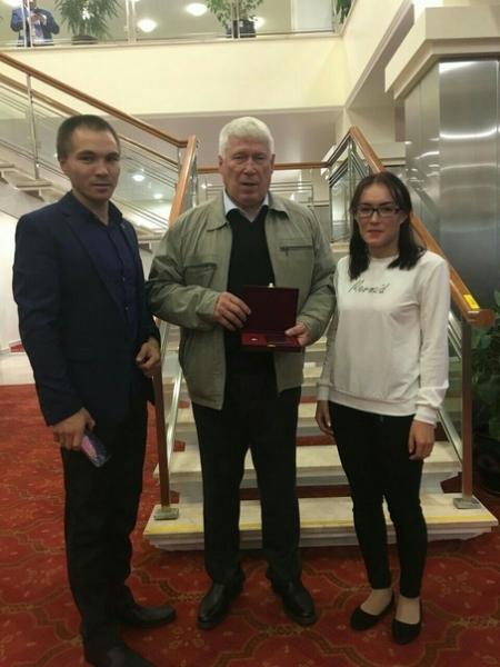 Конев Александр Семёнович удостоен звания
