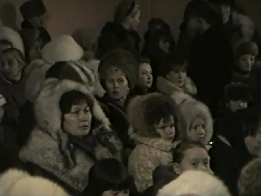 Концерт к 65 летию Шурышкарского района  1995 год