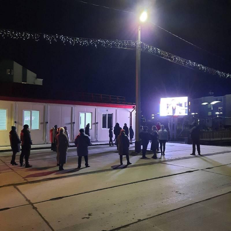 Ямал присоединился к фестивалю уличного кино. Жители Губкинского, Салехарда, Красноселькупского,