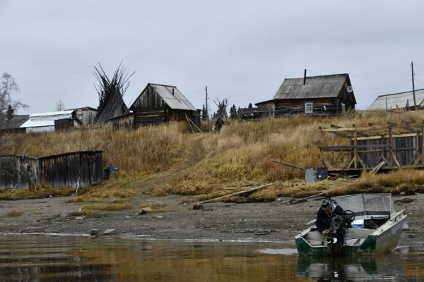 Рыбацкая деревня Вершина-Войкары на пороге зимы